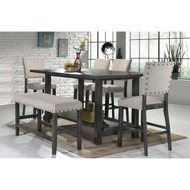 Rustic Charm Dining Set - FREE SHIPPING