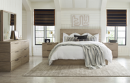 Modern Sandstone Bedroom Set - FREE SHIPPING