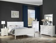 White Sleigh Bedroom Set - FREE SHIPPING
