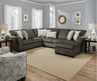 Ash Gray Sectional FREE SHIPPING