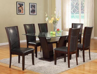 7pc. Glass Dining Table Set - FREE SHIPPING - Weekly Special
