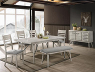 6 pc. Leg Table Dining Set - FREE SHIPPING - Weekly Special