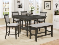 Augusta Square Dining Set - FREE SHIPPING