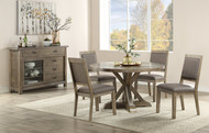 Round Pedestal Table Set w/4 side chairs FREE SHIPPING