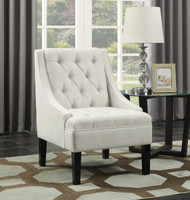 Stephanie Powder Tufted Arm Chair - FREE SHIPPING