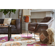 Pierce Leather Accent Chair - FREE SHIPPING