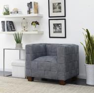 Gibbs Indigo Woven Accent Chair - FREE SHIPPING