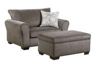 Ash Gray Mini Sleeper Chair - FREE SHIPPING