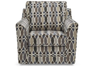 Cynthia Accent Swivel Chair - FREE SHIPPING
