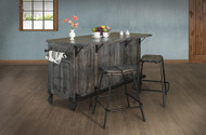 Dark Parota Kitchen Island - FREE SHIPPING