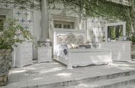 Vintage White Pine Bedroom Set - FREE SHIPPING