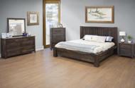 Parota Brown Bedroom Set - FREE SHIPPING