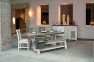 Gray Ladder Dining Room Set - FREE SHIPPING