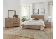 American Maple Storage Bedroom Set - FREE SHIPPING