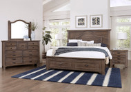 Graystone Storage Bedroom Set - FREE SHIPPING