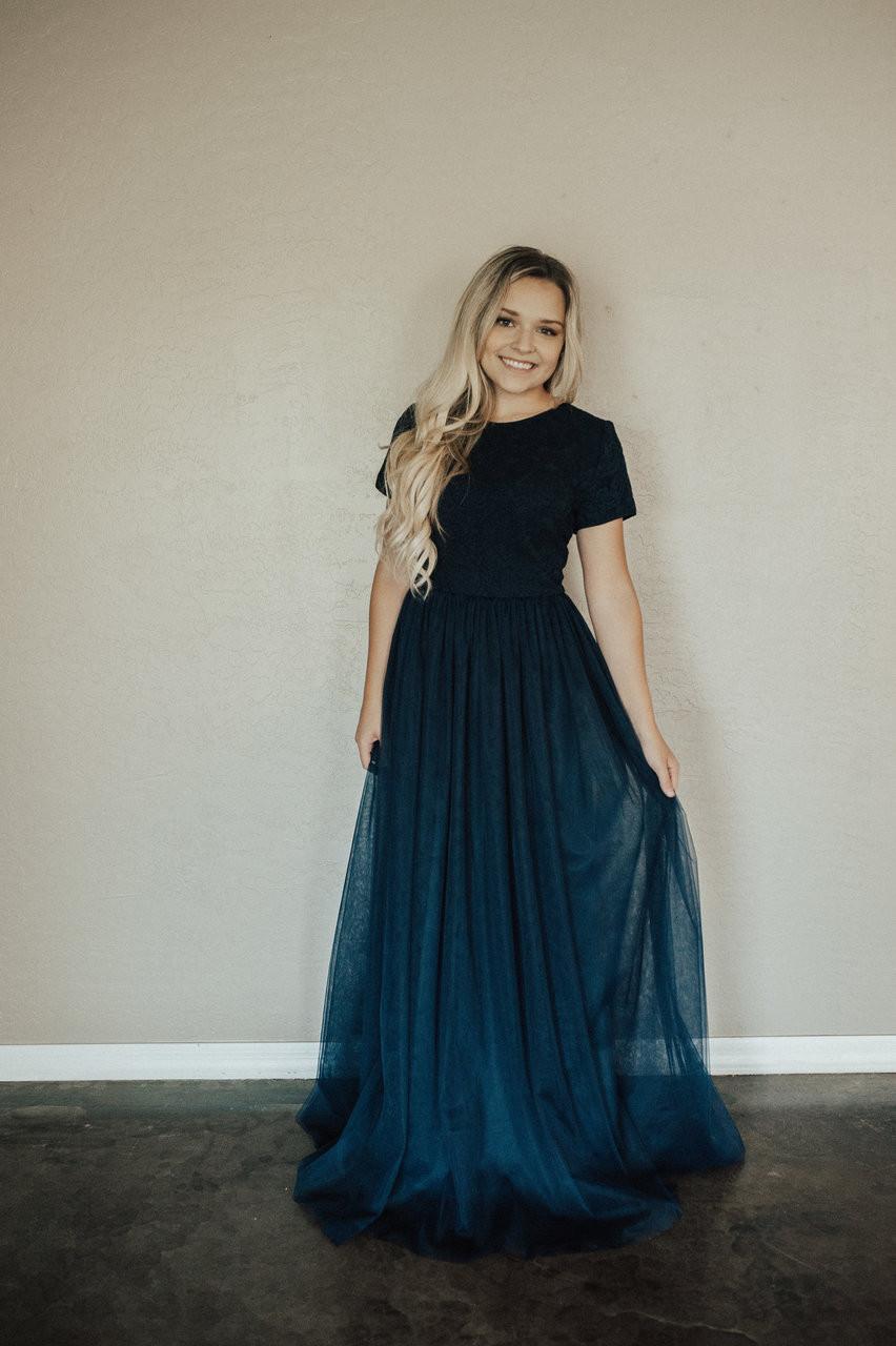 Navy Blue Dressy Dresses