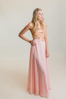 Monica - Pink/Gold