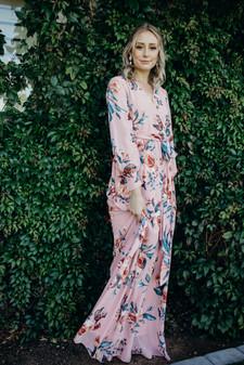 Katella - Mauve Floral