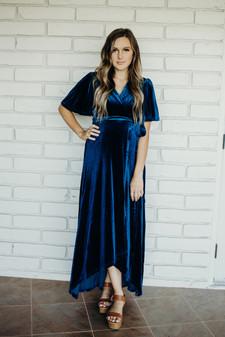 Marlee - Teal Blue