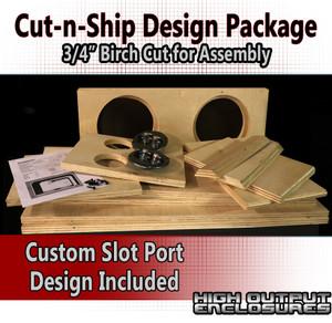 Cut-n-Ship Design Package - Custom Design