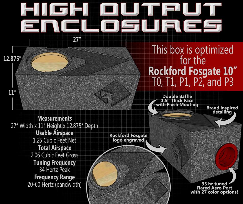 Rockford Fosgate - Single 10