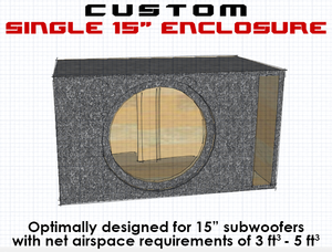 "Single 15"" Subwoofer Box"