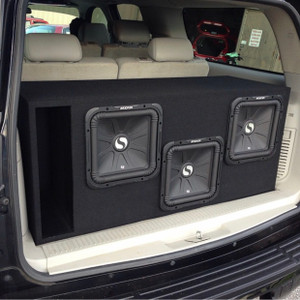 "Triple 12"" Subwoofer Box"