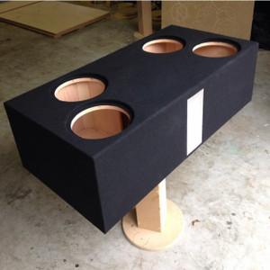 "Quad 10"" Subwoofer Box"