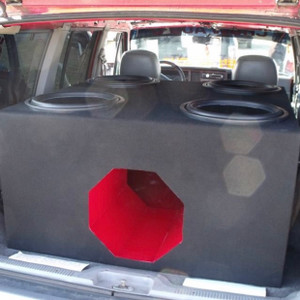 "Quad 15"" Subwoofer Box"