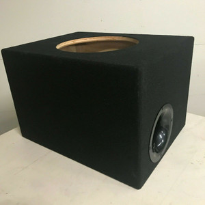 "Sundown Audio 12"" E-12 V.3 SA-12 V2 U-12 Aero Ported Sub Box Birch Wood 1.75"