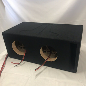 JL Audio 8W7 8w7AE 8 8.5 w7 Dual Custom Ported Box SQ & SPL Vented Enclosure
