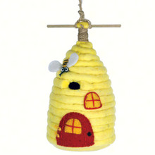 Beehive Felt Birdhouse
