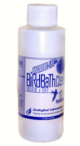 4oz. Bird Bath Clear