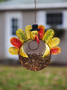 Harvest Shimmer Turkey Birdfeeder