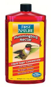 32 oz Red Hummingbird Nectar