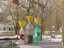 Yellow Soda Bottle Funnel