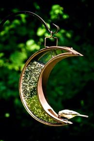 Crescent Moon Venetian Bronze