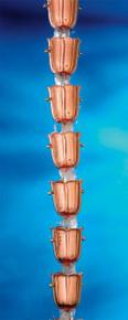 18 Cup Bluebell Rain Chain