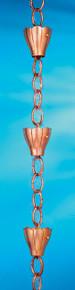 6 Cup Crocus Rain Chain