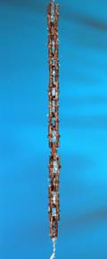 Bamboo Rain Chain Rustic Aluminum