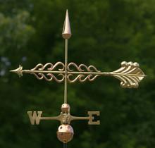 Smithsonian Arrow Weathervane Polished Copper + FRT