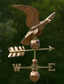 Smithsonian Eagle Weathervane Polished Copper + FRT