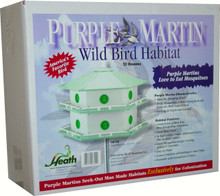 Aluminum Purple Martin 12 Room