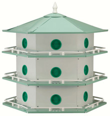 Aluminum Purple Martin 18 Room