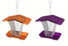 Sml Hopper Feeder 2 Purple / 2 Orange
