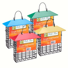 Weather Guard Suet Feeder 1box is 1 UNIT Assorted Colors