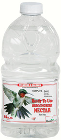 Clear Ready To Use Nectar 64 oz