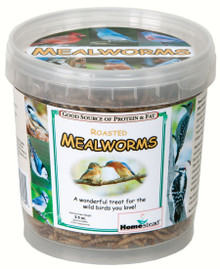 3.5 oz Pack of Dried Mealworms