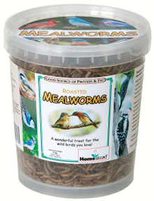 7 oz Pack of Dried Mealworms