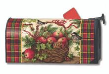 Winter Basket Mailwrap